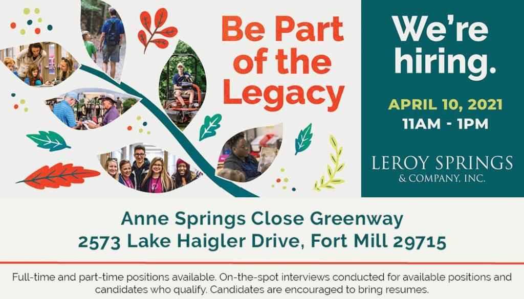 LSC Job Fair April 10, 11am-1pm